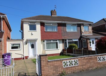 Thumbnail 3 bedroom semi-detached house to rent in Barford Road, Hunts Cross, Liverpool