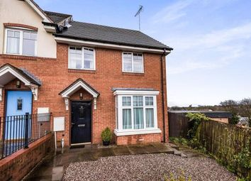 Thumbnail 3 bedroom end terrace house for sale in Reservoir Close, Northfield, Birmingham, West Midlands
