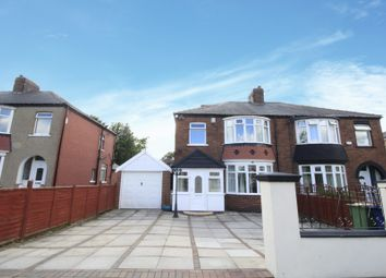 Thumbnail 4 bed semi-detached house for sale in Normanby Road, Middlesbrough