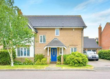 Thumbnail 4 bedroom detached house for sale in Thrupp Close, Castlethorpe, Milton Keynes, Bucks