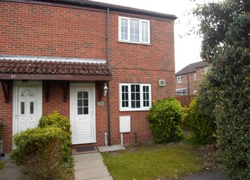 Thumbnail 2 bed town house for sale in Bevan Close, Rainworth