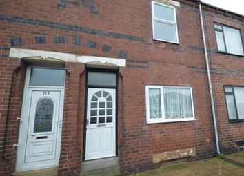 Thumbnail 2 bed terraced house to rent in Savile Road, Castleford