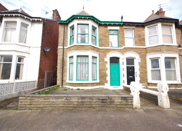 Thumbnail 8 bed end terrace house for sale in Withnell Road, Blackpool, Lancashire