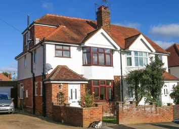 Thumbnail 4 bed semi-detached house to rent in Byrefield Road, Guildford