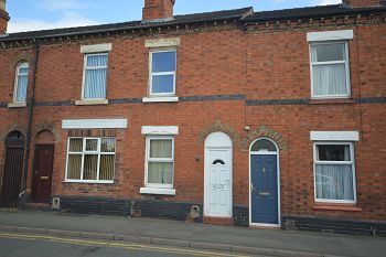 Thumbnail 2 bedroom terraced house to rent in 21 South Street, Crewe, Cheshire