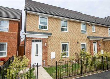 Thumbnail 3 bed semi-detached house to rent in Northumbrian Way, Lakeside View, Killingworth