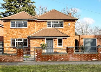 Thumbnail 4 bed detached house for sale in Burfield Road, Old Windsor, Berkshire