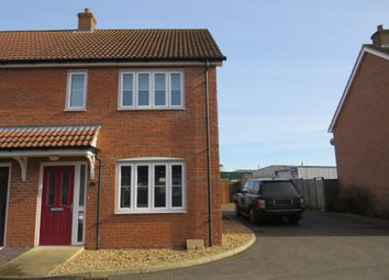 Thumbnail 2 bedroom semi-detached house for sale in Merchants Court, Watton, Thetford