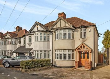 Thumbnail 3 bed detached house for sale in Belgrave Avenue, Gidea Park, Romford