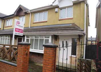 Thumbnail 3 bed semi-detached house to rent in Kelham Square, Downhill, Sunderland