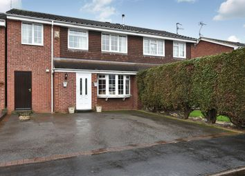 Thumbnail 4 bed semi-detached house for sale in Ravens Way, Burton-On-Trent