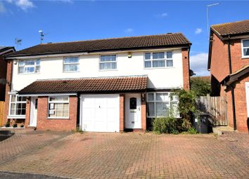 Thumbnail 3 bed semi-detached house for sale in Shelleycotes Road, Brixworth, Northampton