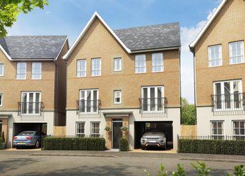 "Thumbnail 4 bedroom detached house for sale in ""Taunton"" at Fen Street, Brooklands, Milton Keynes"