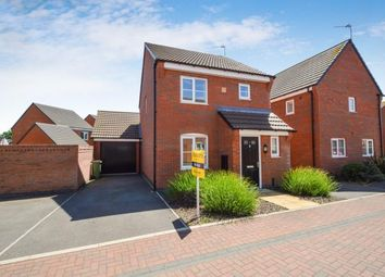 Thumbnail 3 bed detached house for sale in Baum Crescent, Stoney Stanton, Leicester, Leicestershire