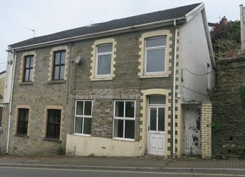 Thumbnail 4 bed semi-detached house for sale in Commercial Street, Llantrisant