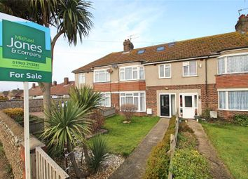Thumbnail 4 bed terraced house for sale in Brougham Road, Worthing, West Sussex