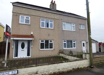Thumbnail 3 bed semi-detached house for sale in Osborne Road, Heysham, Morecambe