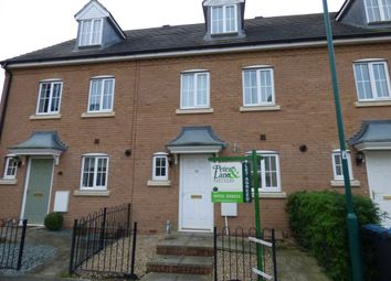 Thumbnail 3 bedroom town house to rent in Carrier Close, Peterborough