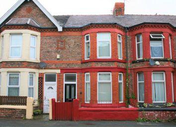 Thumbnail 4 bedroom terraced house for sale in Grange Road West, Birkenhead