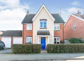 Thumbnail 4 bed detached house for sale in Magnolia Drive, Rendlesham, Woodbridge