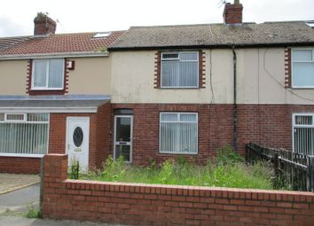Thumbnail 3 bedroom terraced house to rent in Holmwood Avenue, Newbiggin-By-The-Sea