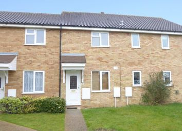 Thumbnail 2 bed terraced house to rent in Durham Close, Biggleswade