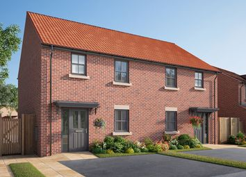 "Thumbnail 3 bed town house for sale in ""The Rowton"" at Cautley Drive, Killinghall, Harrogate"