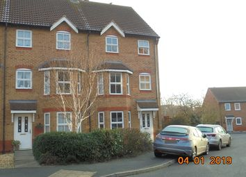 Thumbnail 3 bed town house to rent in Wood End, Evesham