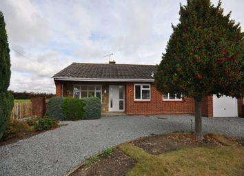Thumbnail 2 bed detached bungalow for sale in Thorpe Road, Kirby Cross