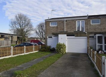 Thumbnail 3 bed town house for sale in Sandon Road, Basildon, Essex