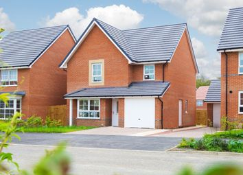 "Thumbnail 4 bed detached house for sale in ""Guisborough"" at Morgan Drive, Whitworth, Spennymoor"