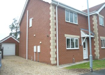 Thumbnail 2 bed semi-detached house to rent in Elmtree Road, Ruskington, Sleaford