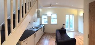 Thumbnail 1 bed flat to rent in Melbourne Place, Bradford