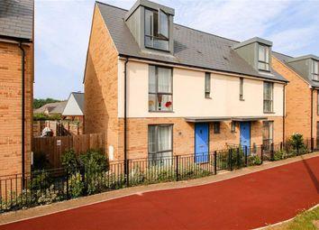 Thumbnail 3 bedroom town house for sale in Fen Street, Brooklands, Milton Keynes, Bucks