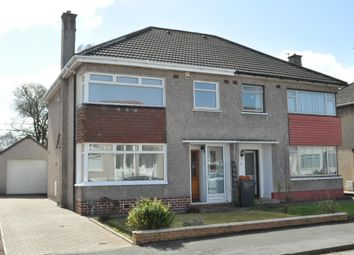 Thumbnail 3 bedroom semi-detached house for sale in Cloan Crescent, Bishopbriggs, Glasgow