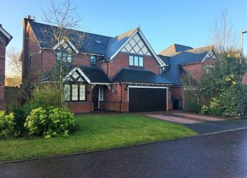 Thumbnail 5 bedroom detached house for sale in Rushes Meadow, Lymm