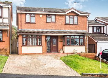 Thumbnail 5 bedroom detached house for sale in Stratford Close, Dudley