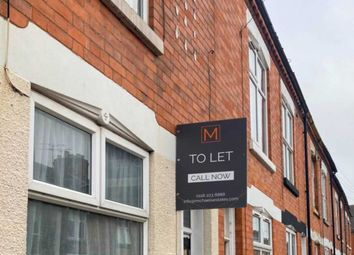 Thumbnail 3 bed terraced house to rent in Stuart Street, Leicester