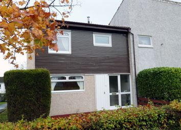 Thumbnail 3 bedroom end terrace house for sale in Mallard Crescent, Greenhills, East Kilbride