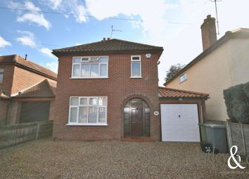 Thumbnail 4 bed detached house for sale in Rosemary Road, Sprowston, Norwich