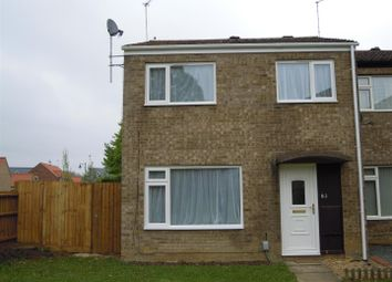 Thumbnail 3 bedroom end terrace house to rent in Deerleap, South Bretton, Peterborough