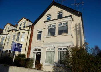 Thumbnail 1 bed flat to rent in Cobbold Road, Felixstowe