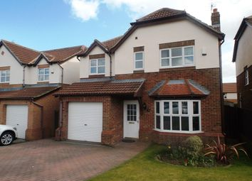 Thumbnail 4 bed detached house for sale in Hillview Grove, Easington