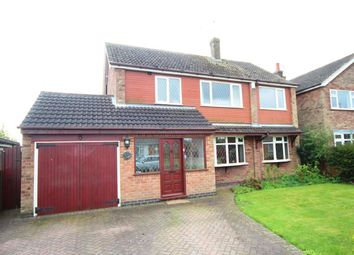 Thumbnail 4 bedroom detached house for sale in Peters Avenue, Newbold Verdon, Leicester