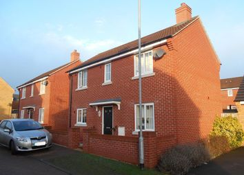 Thumbnail 3 bed detached house for sale in Saltcote Way, Bedford, Bedfordshire
