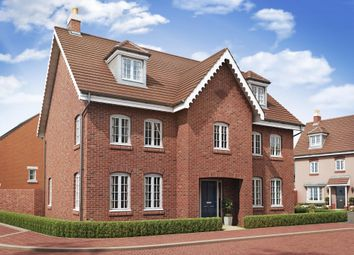 "Thumbnail 5 bed detached house for sale in ""Lichfield"" at Great Denham, Bedford"
