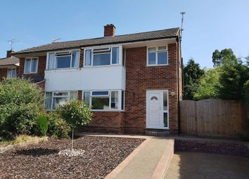 Thumbnail 3 bed semi-detached house to rent in Karen Close, Ipswich