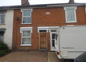 Thumbnail 3 bedroom terraced house to rent in Orwell Road, Ipswich