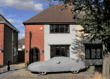 Thumbnail 3 bed semi-detached house for sale in Tennyson Road, Rothwell, Kettering