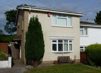 Thumbnail 2 bed semi-detached house to rent in Clos Rhandir, Loughor, Swansea